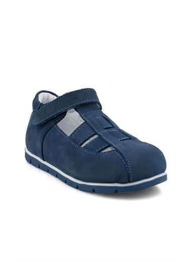 Cicibebe Kot Erkek Çocuk Sandalet Renkli